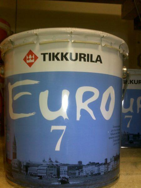 Краска Tikkurilla «Euro-7».