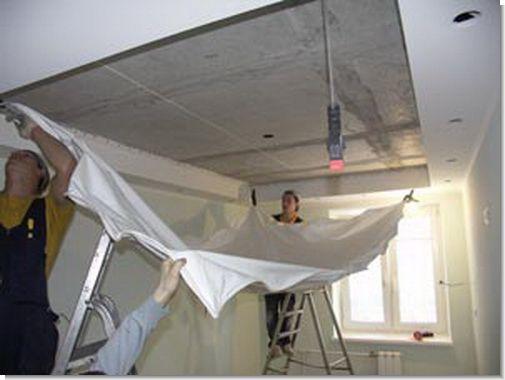Потолки из гипсокартона своими руками инструкция
