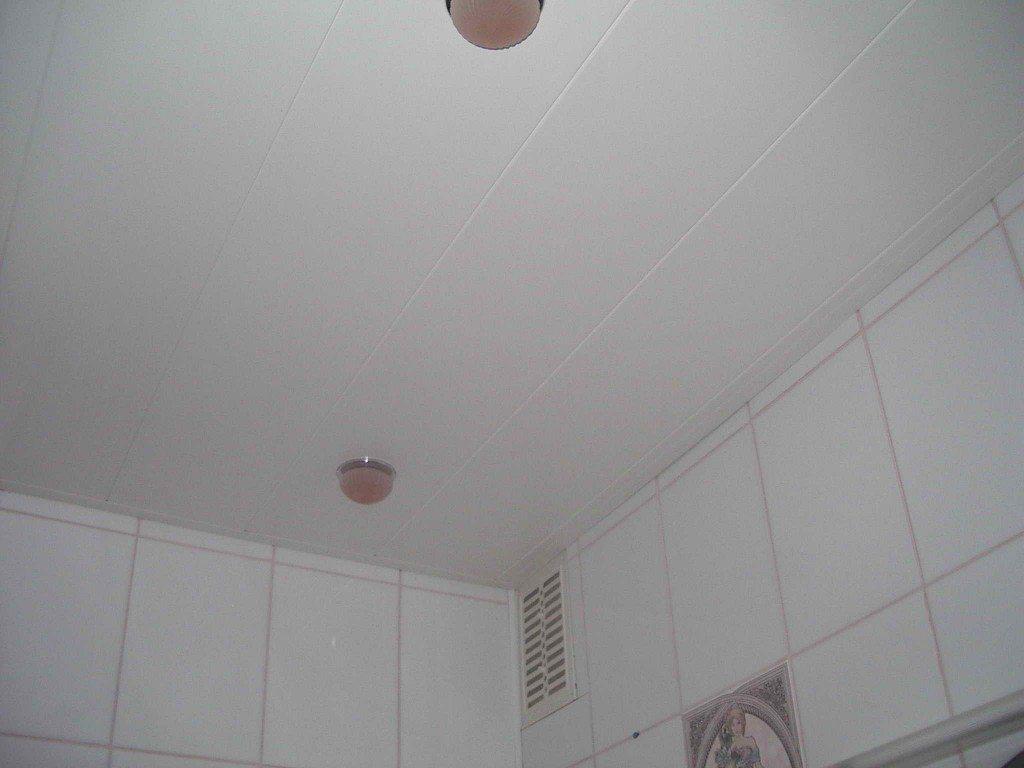 Чаще всего потолки из поливинилхлоридных панелей монтируются в сырых помещениях: ванных и туалетах.