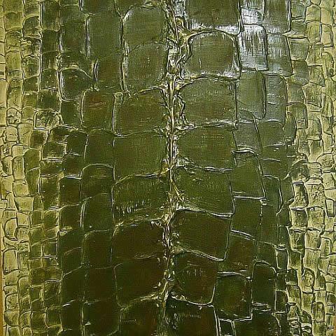 Крокодилья кожа получается благодаря шпателю