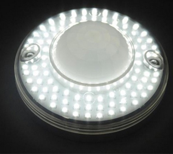 Круглая конструкция на светодиодах