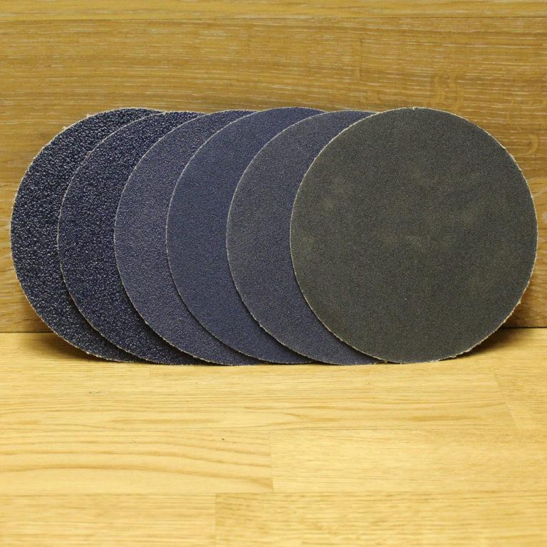Наждачная бумага на шлифовальный круг