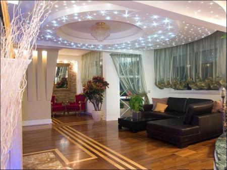 Выбор потолочных светильников для домашнего освещения сегодня невообразимо широк