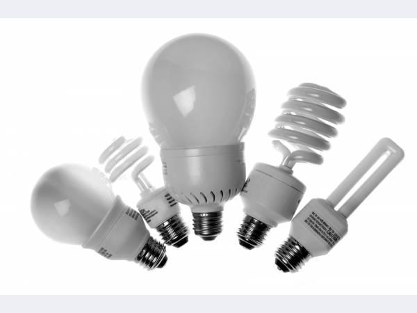 В компактных люминесцентных лампах разрядная трубка особой формы, уменьшающая длину изделия при сохранении его мощности (до 20 Вт).