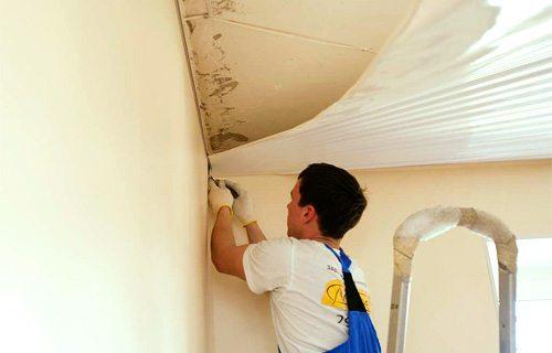 Как сделать замер натяжного потолка правильно своими руками: фото - и видео описание и инструкция