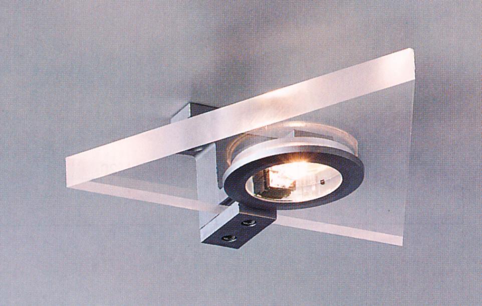 Треугольный настенно-пототолочный светильник