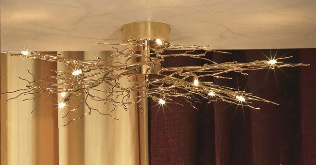 Светильник светодиодный потолочный накладной: выбор и установка