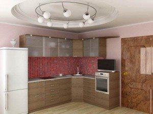 Красивая люстра на кухне – залог красивого интерьера