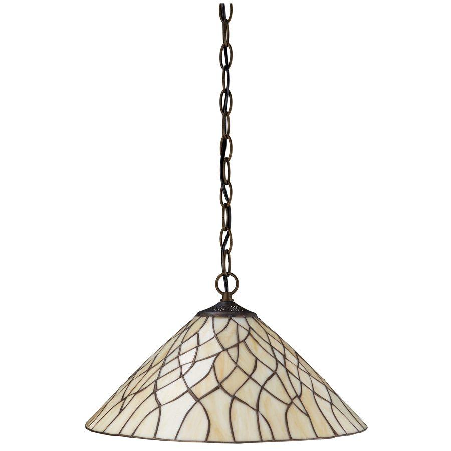 Пример однолампового подвесного светильника