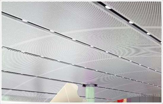Панельные металлические потолки