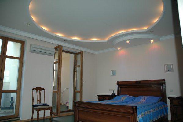 Потолок многоуровневый из гипсокартона