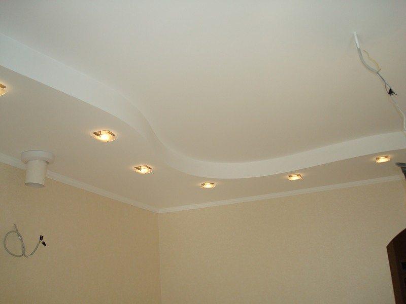 Многоуровневые потолки из гипсокартона – значительное расширение возможностей светового дизайна