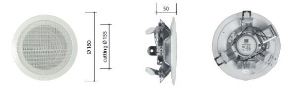 Модель «AMC MC 4TA» с указанными размерами