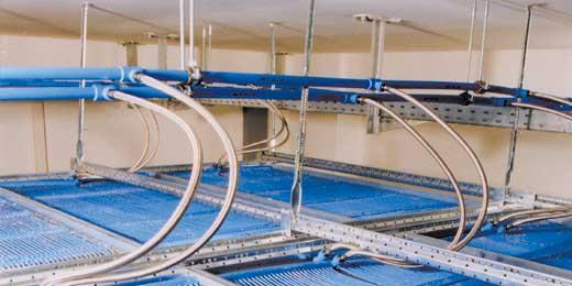Монтаж холодного потолка в кассетной конструкции