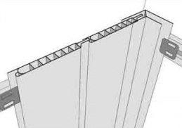 Очень важно закрепить панели встык без зазоров