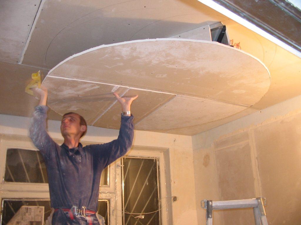 Многоуровневые потолки из гипсокартона: особенности конструкций