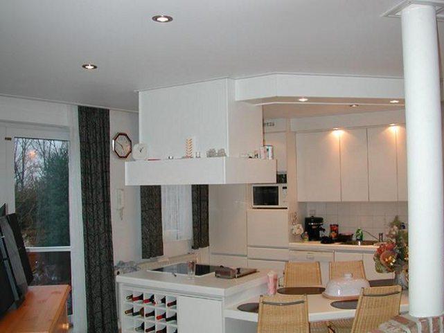 Подвесные потолки своими руками на кухне