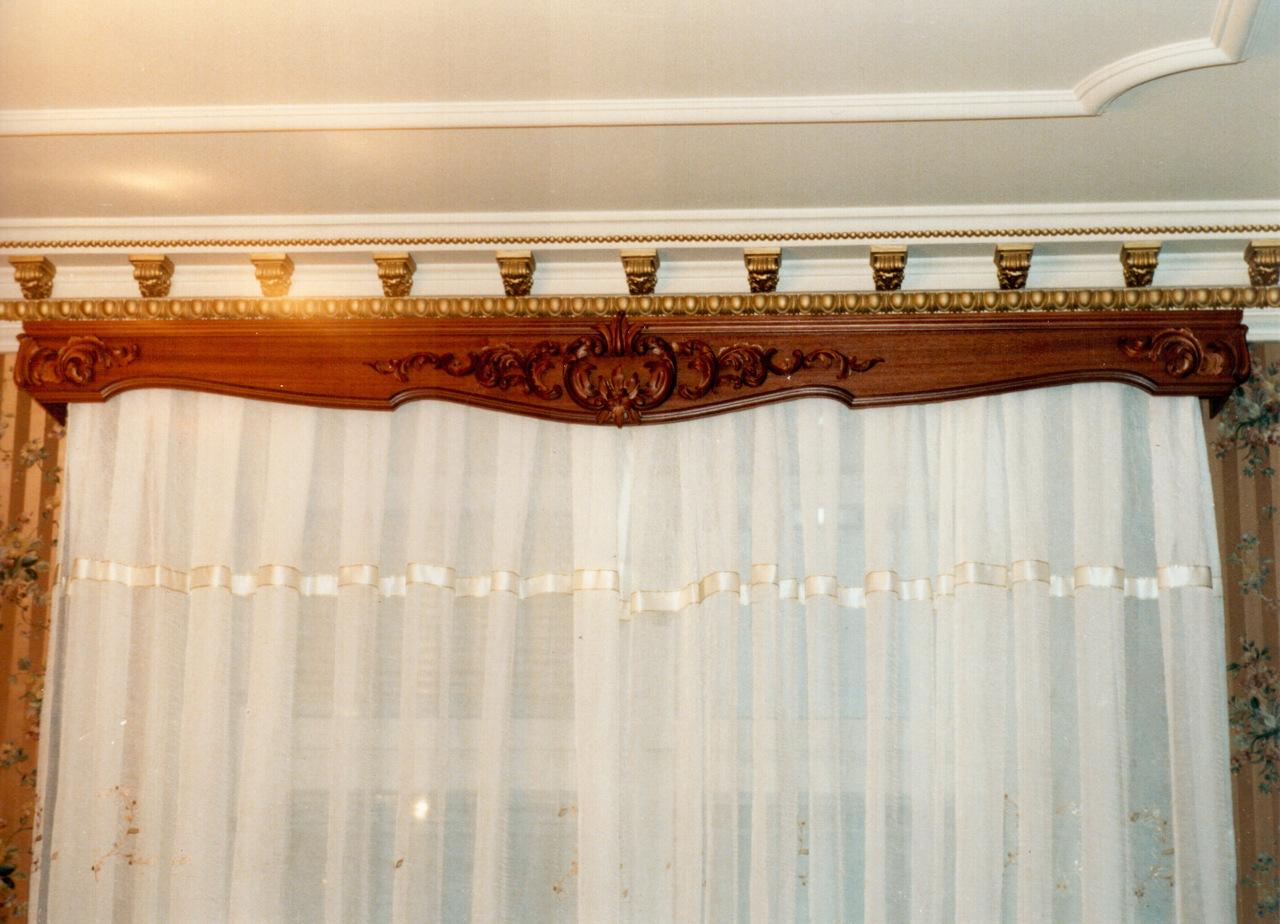 Потолочный карниз для штор своими руками