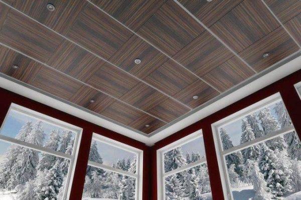 На фото: современные ПВХ панели могут иметь очень стильный дизайн