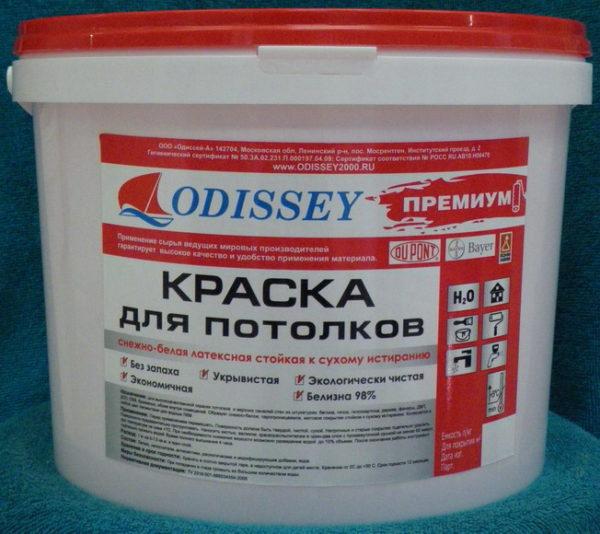Надпись «краска для потолков» значит только, что она более жидкая.
