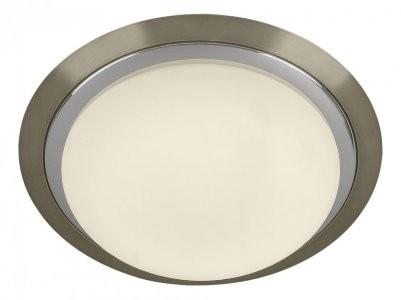 Накладной светильник – не самый лучший выбор для сочетания с натяжными потолочными конструкциями