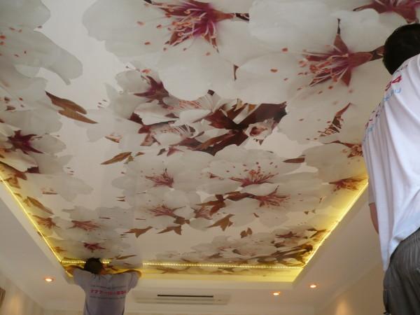 «Натяжной потолок – красивое и практичное решение для любого интерьера»