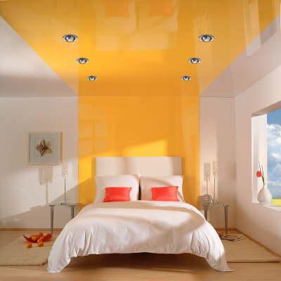 Натяжной потолок – не только красиво, но и практично