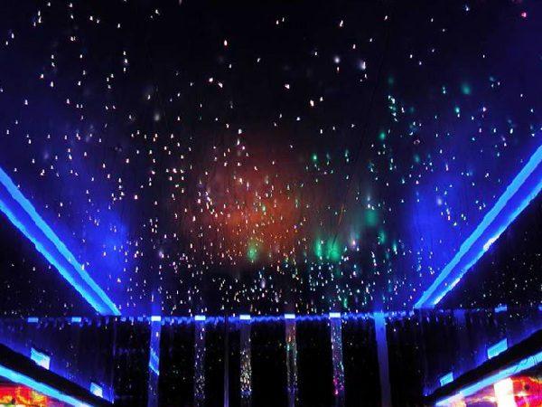 Натяжной потолок «звездное небо».