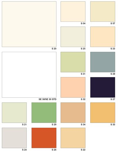 В цветовом ассортименте натяжных сатиновых потолков преобладают пастельные оттенки
