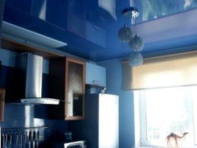Потолки на кухне натяжные