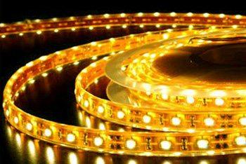 Подсветка натяжного потолка диодная или дюралайт