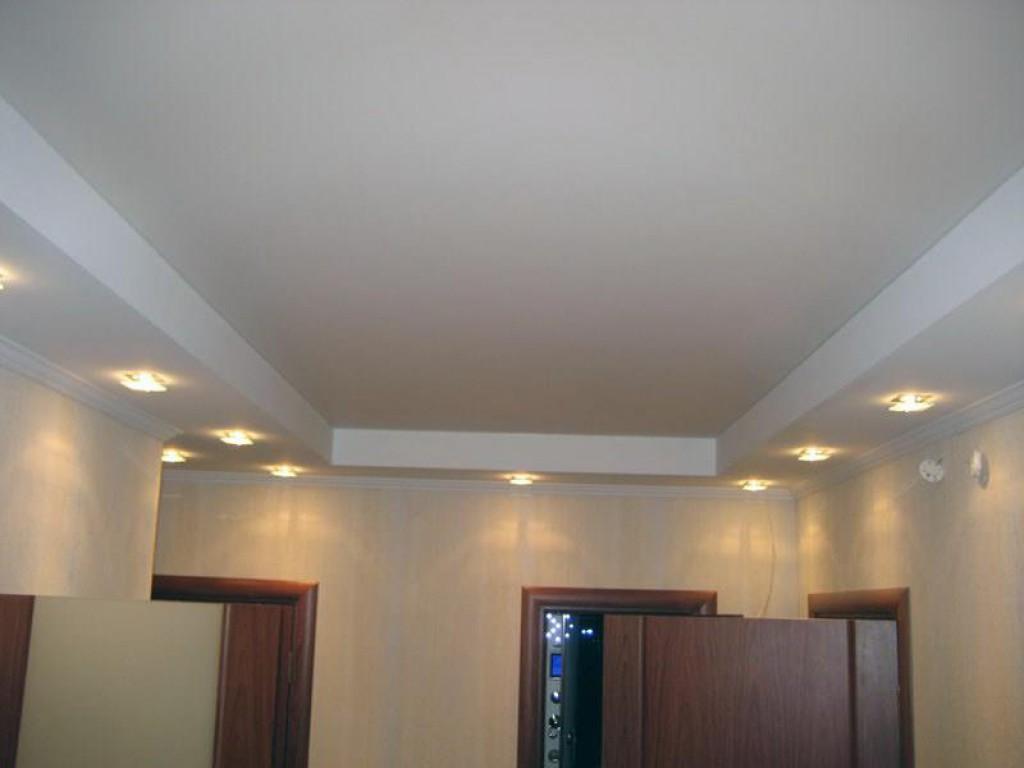 Сложно ли сделать такой потолок самому? Хотя бы каркас и короб из гипсокартона? Давайте попробуем.