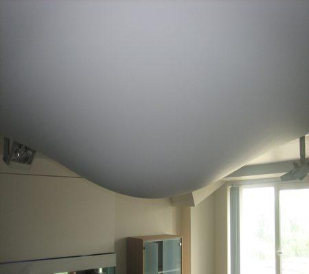 натяжной потолок после затопления