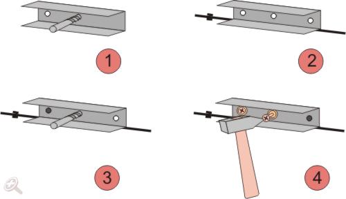 Инструкция по креплению UD профиля по разметке