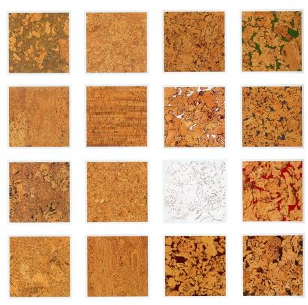 Некоторые виды пробкового покрытия