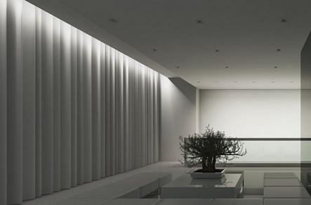Необычный дизайн делает комнату уютной и одновременно праздничной
