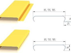 Несущие алюминиевые профиля-шины со специальными пазами