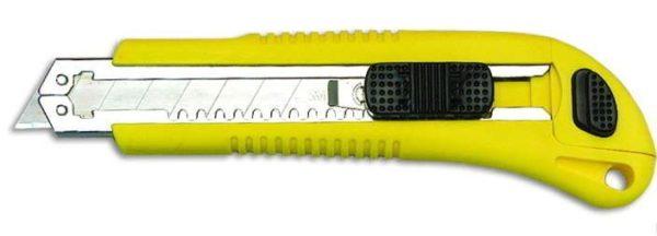 Нож позволяет быстро и качественно резать стеклохолст