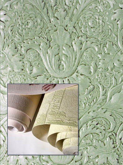 Обои на основе состоят из подложки и внешнего декоративного покрытия.