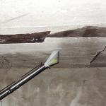 Обработка потолка гаража от плесени и грибка