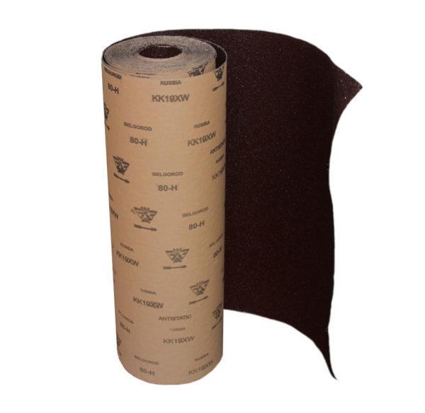 Образец рулона наждачной бумаги 80-Н