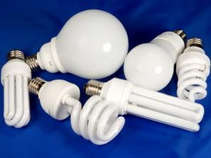 Образцы люминесцентных ламп