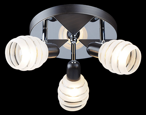 Один из образцов дизайна светильника-спота.