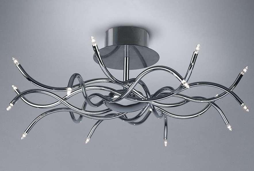Декоративная лампа с галогеновыми лампочками