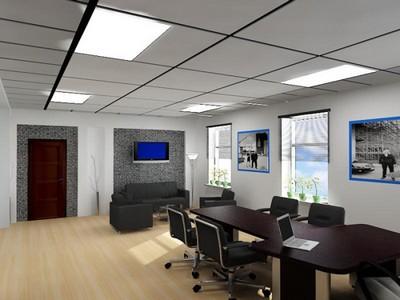 Потолок в современном офисе