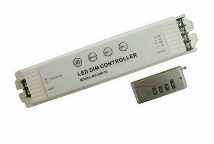 Для регулировки яркости LED-панелей используется специальный диммер