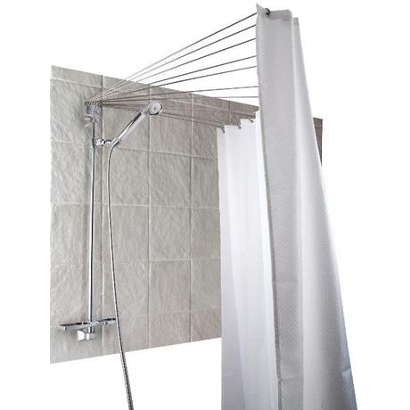 Оригинальное современное решение для угловой, полукруглой ванны или душа