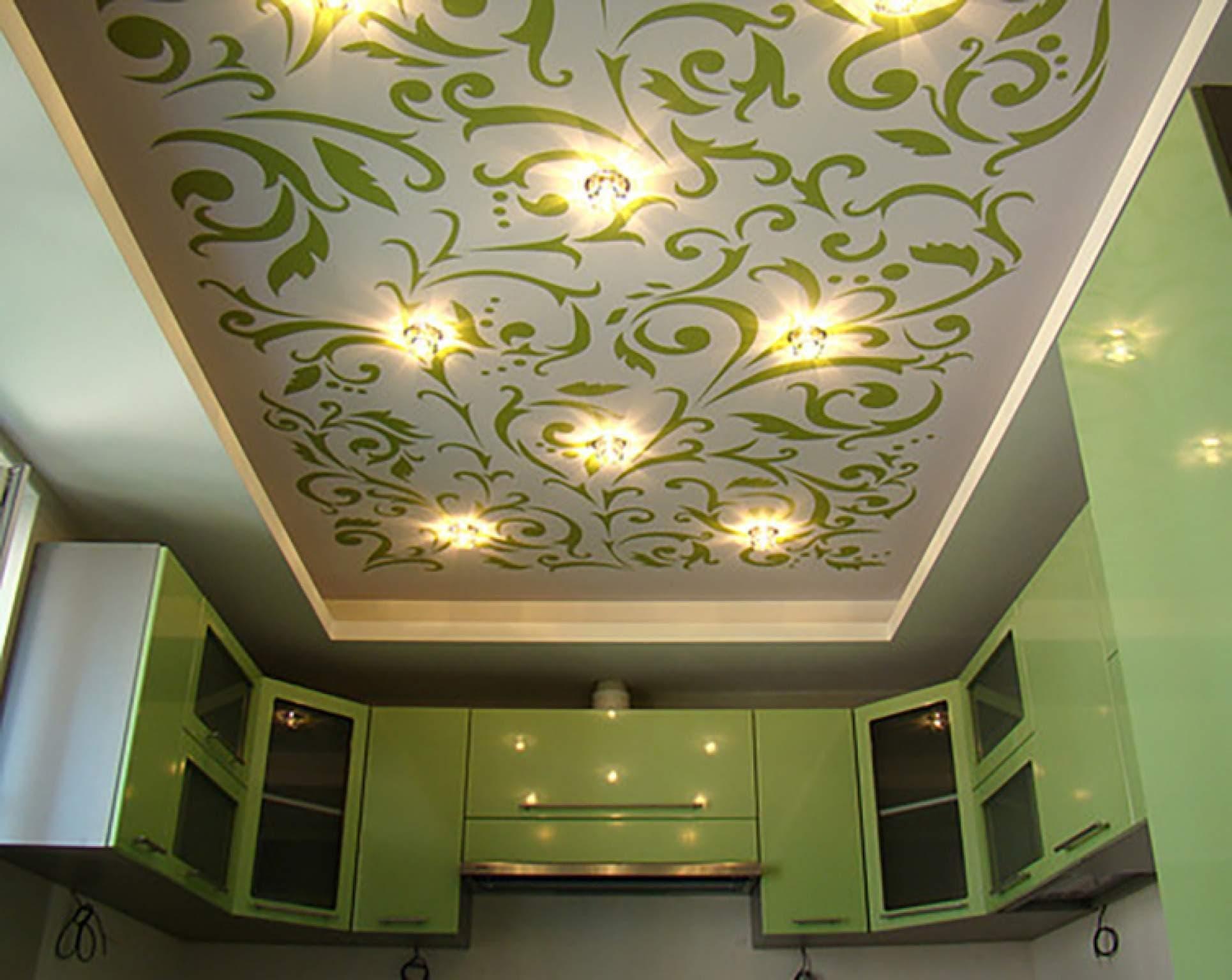 картинка тканевый натяжной потолок