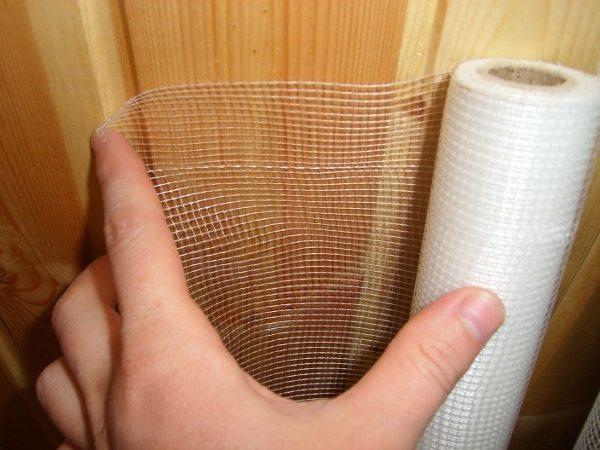 Штукатурная сетка для потолка