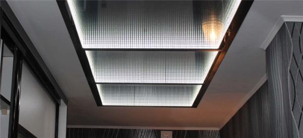 3d потолок из панелей – идеальное «оружие» в руках дизайнера